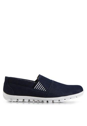 Dr. Kevin navy Loafers, Moccasins & Boat Shoes Shoes 13291 Navy Denim DR982SH14MHPID_1