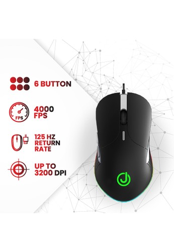Joyseus Gaming Mouse JOYSEUS RGB 3200DPI LED USB Professional - MS0005 BFE93ES1CEEB38GS_1