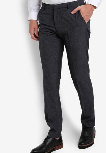 Burton Menswear London navy Navy Skinny Fit Trousers BU964AA99PIIMY_1