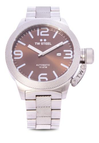 TW Steel silver CB26 Canteen Bracelet Analog Watch TW310AC0KMAPPH_1