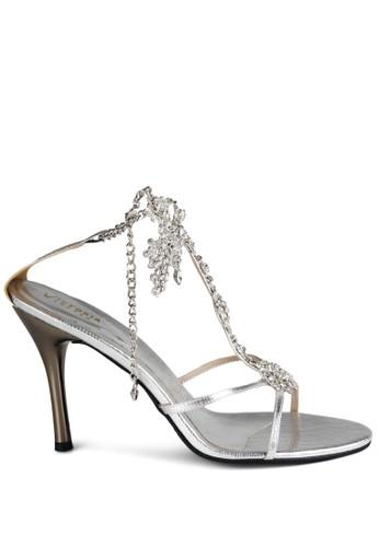 Frenska Heels Silver