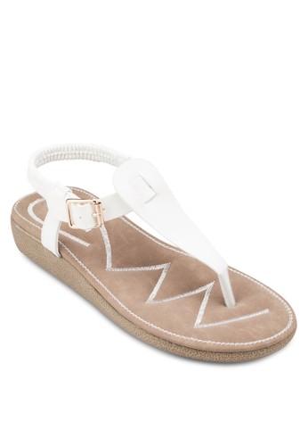 繞踝夾zalora 折扣碼腳涼鞋, 女鞋, 涼鞋