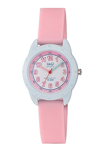 Q&Q pink Q&Q WATCH BY CITIZEN For Kid Watch VR97J001Y 47A50KC57202F8GS_1