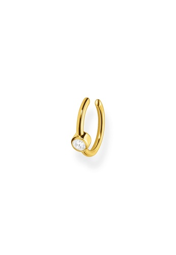 THOMAS SABO gold Ear Cuff White Stone (Single) Gold E59E3AC911CD58GS_1