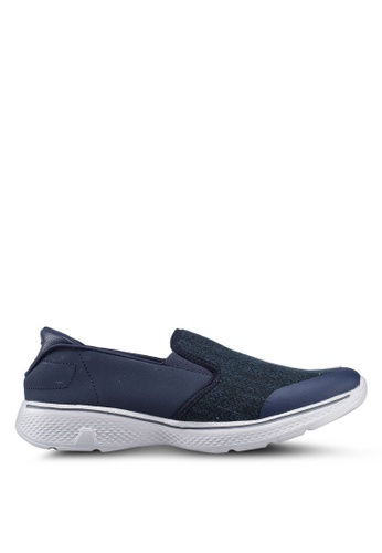 UniqTee 藍色 Lightweight Slip-On Sport Shoes Sneakers 49088SHA429491GS_1