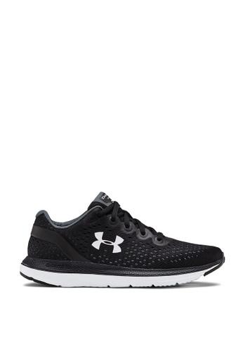 Under Armour black UA W Charged Impulse Running Shoes BD69ESH8EBB24CGS_1