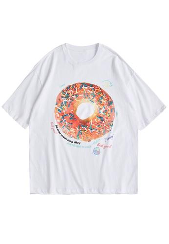 Twenty Eight Shoes Trend Printed Short T-shirt 1565S21 3609AAAF5BDA8EGS_1