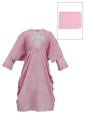 INFINE pink Muslim Dress Anak Esm 179 6/16 6265AKA99A887BGS_1