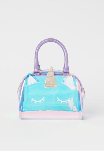 H&M purple and multi Shimmering Unicorn Bag D0D6DKC9E64508GS_1