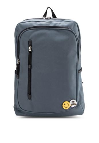 esprit 香港尼龍17寸筆電旅行後背包, 包, 後背包