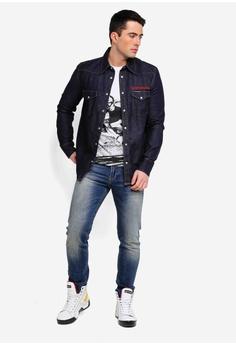 68b61d4f22 Calvin Klein Foundation Western Shirt - Calvin Klein Jeans S  279.00. Sizes  S M L