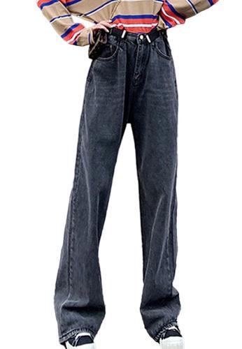 Sunnydaysweety black Loose and Long Jeans CA052013BK E023EAA766ED04GS_1