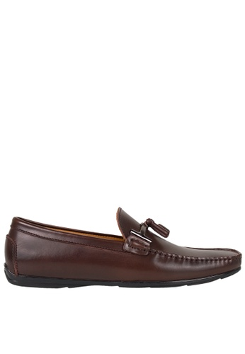 Tomaz brown Tomaz C339 Buckled Tassel Loafers (Coffee) 58CACSH6E774BDGS_1