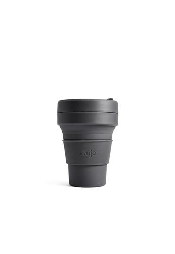Stojo stojo pocket cup 12oz / 355ml, Carbon 9F602HLCCD9FA3GS_1