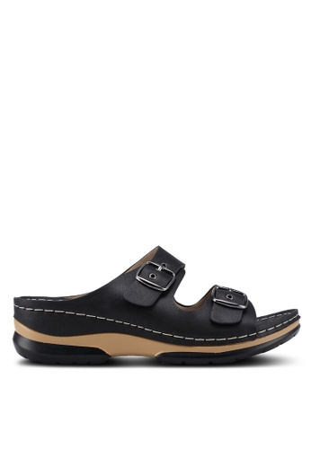 Louis Cuppers black Casual Sandals 146D9SHC97B2AAGS_1