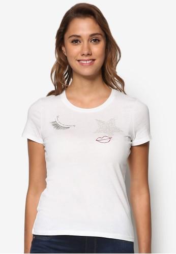 短袖精緻TEE、 服飾、 T-shirtESPRIT短袖設計TEE最新折價