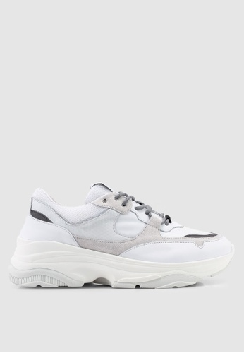 Selected Homme white Gavin Trainers C31C8SH6F052AAGS_1
