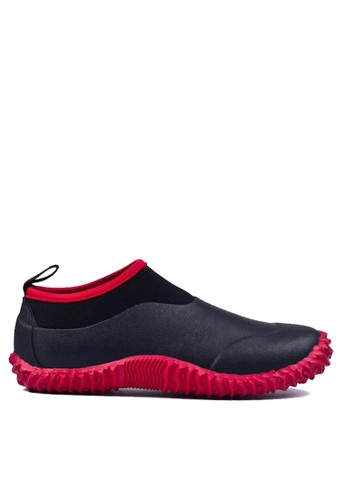 Twenty Eight Shoes 黑色 男女款前衛設計的雨鞋 VR30 924C3SHEAE3D07GS_1