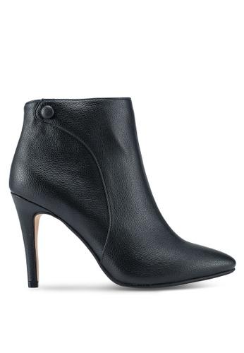 ZALORA 黑色 Heeled Ankle Boots 61C33SH710521CGS_1