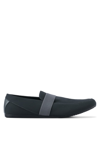 Uniqtee  Classic Textile Loafers  Grey
