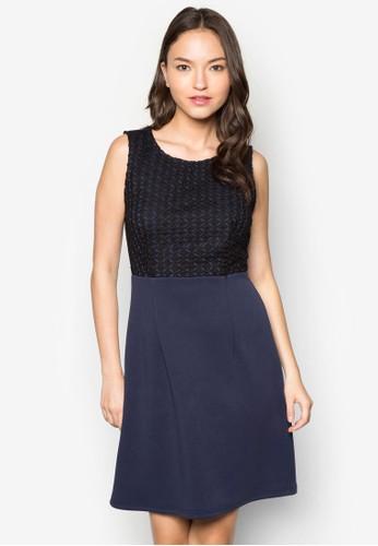 Annazalora 心得 pttbelle 鉤針拼接洋裝, 服飾, 洋裝