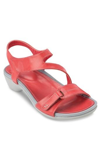 CHARMINE 低跟繞踝涼鞋,esprit 工作 女鞋, 鞋