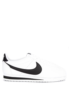 huge selection of 7fd24 5c242 Nike white Nike Classic Cortez Leather Shoes 61428SH3A1B977GS 1