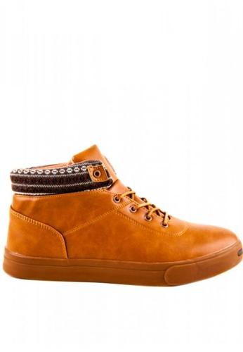 Otto brown High Cut Shoes 885A2SHA142CE3GS_1