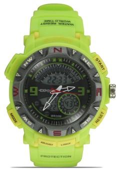 Unisex Ana-Digi Athletic Sports Watch 3209ME