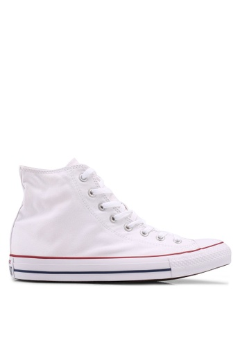 Converse white Chuck Taylor All Star Core Hi Sneakers CO302SH0SW97MY_1