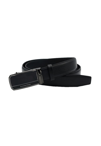 EXTREME black Extreme Genuine Leather Auto Belt C5D67AC42B122BGS_1