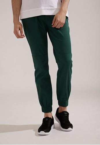 Life8 green Classic Casual Trouser Jogger Pants-02404-Jungle Green LI283AA0FFHESG_1