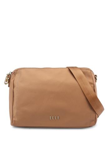 ELLE brown Charice Sling Bag 12296AC567853EGS_1