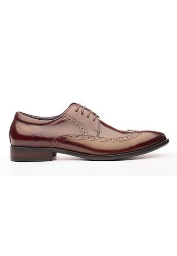 Kings Collection 紅色 梅爾茨牛津鞋 B9511SH57D7A65GS_1