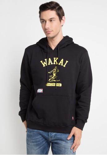 Wakai black Football Pullover 3943CAAC56122BGS_1