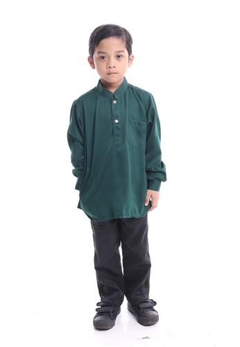 Denai Boutique green Kurta Ahmad D79D9KA5BCCF6AGS_1