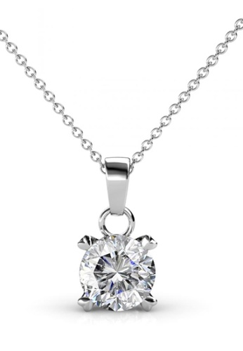 Her Jewellery silver Her Jewellery SweetHeart Pendant (White Gold) with Necklace Chain with 18K Gold Plated 85277AC43623EFGS_1