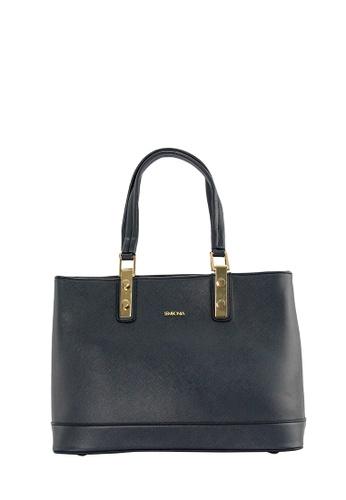SEMBONIA blue SEMBONIA Synthetic Leather Tote Bag (Dark Blue) SE598AC0SBBWMY_1