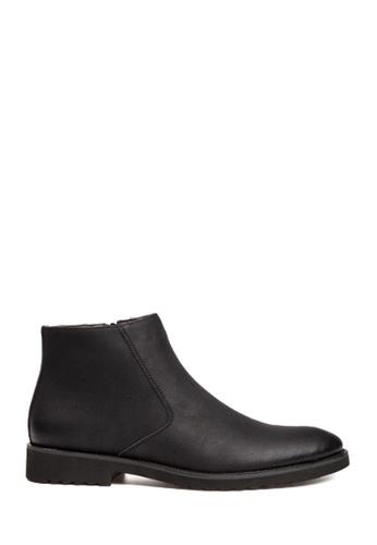 Twenty Eight Shoes black Basic Low-Cut Boots VM825 174A9SH5D125BAGS_1