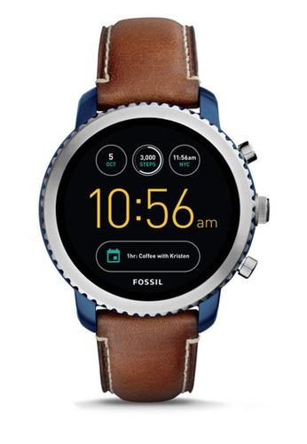 Fossil brown Fossil Q Explorist Gen 3 Smartwatch FTW4004 FO164AC0RRLBMY_1