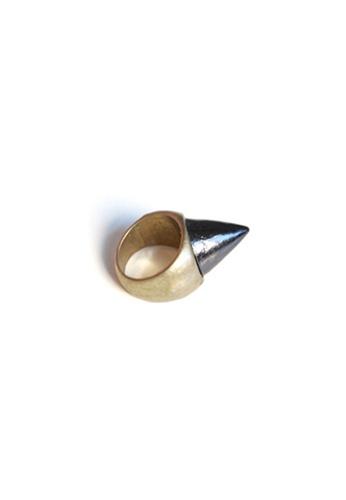 The Catalyst Store Black Stud Bronze Ring FBEA4AC59C118FGS_1