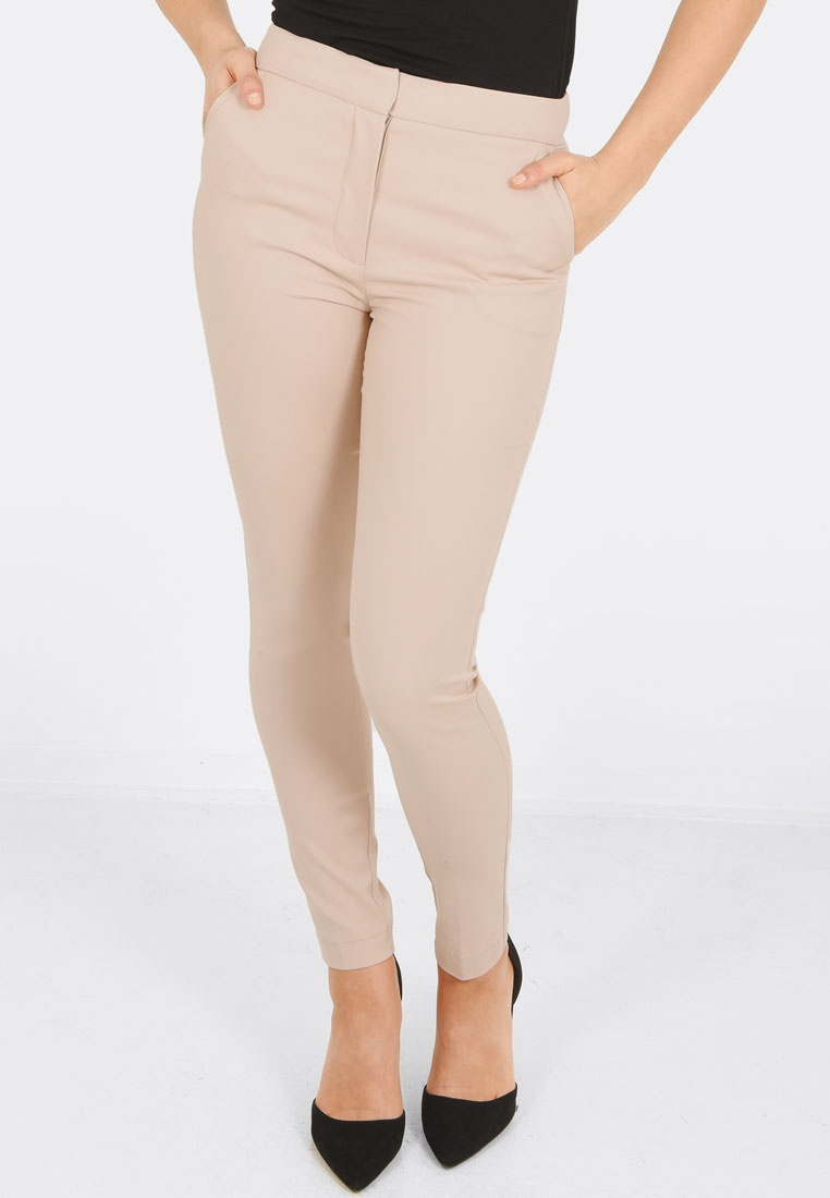 Pants Monroe Beige Stretch Slim FORCAST tAwq8Pq