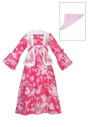 ESTRELLA red Muslim Dress Anak ESM 136 6/12 E63E9KAD753649GS_1