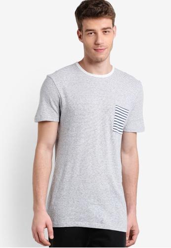 Selected Homme 灰色 O Neck T-Shirt SE364AA29LEKMY_1