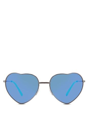 JP0152 心形框esprit衣服目錄太陽眼鏡, 飾品配件, 飾品配件
