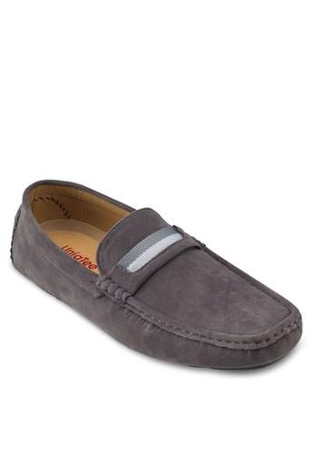 經典方頭麂皮船型鞋, 鞋, 船esprit 品質型鞋