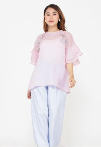 Cleody pink Daisy Top - Baby Pink - Atasan Wanita - Blouse - Cleody Indonesia A7937AA9936DA9GS_1