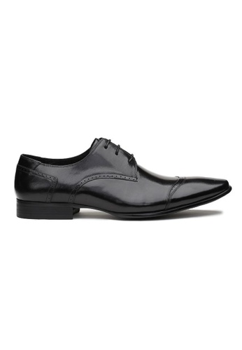 Kings Collection black Anderson Oxford Shoes 044CFSH56C950AGS_1