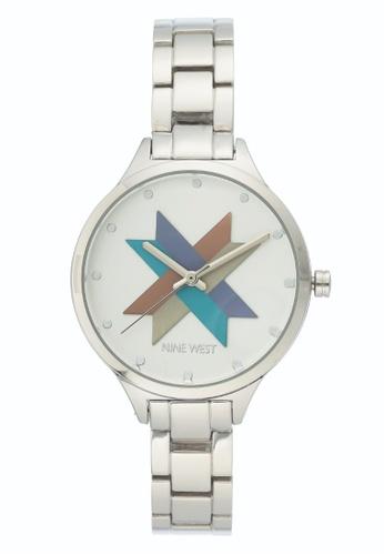 Nine West silver Nine West  Bracelet Women's Watch NW-2251SVSV AE791ACEAEBA8CGS_1