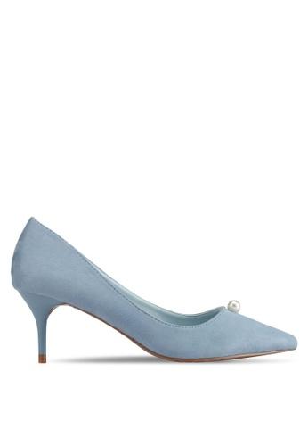 VINCCI blue Pointed Toe Pumps Heels D96DASH9DDA0FAGS_1